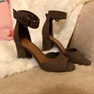 Olive Colored Heels